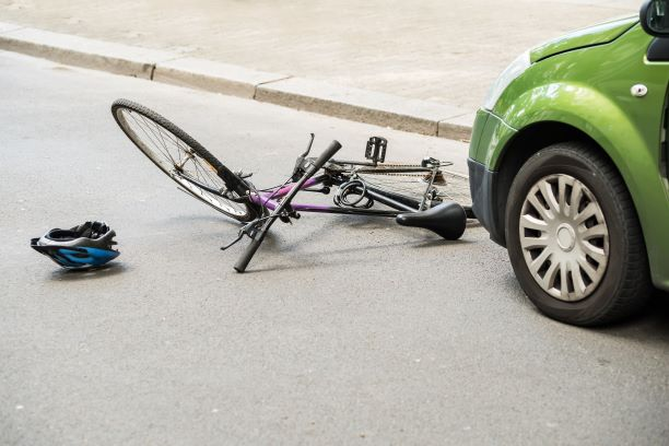 Bicycle Crash with Vehicle