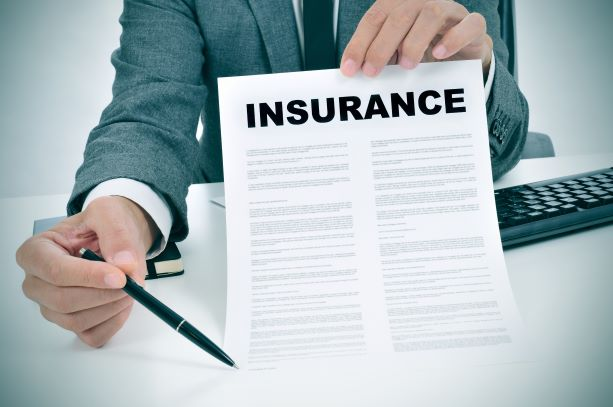 Insurance Company with Insurance Form